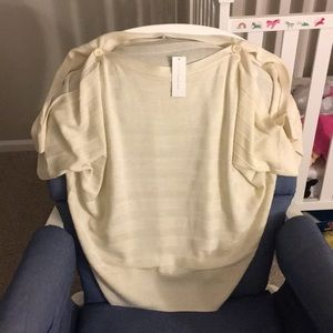 New York and Co cold shoulder blouse